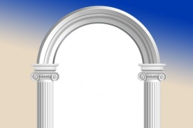 marble-white-arch