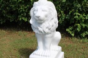 lion-marble-garden-ornament